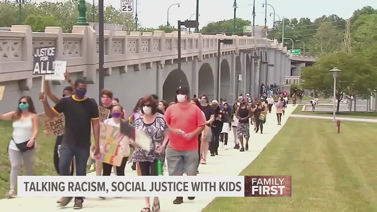 Kids, racism, and social justice: how to address these topics at home | Family First with FOX43
