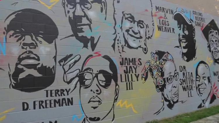 Lancaster mural hopes to inspire