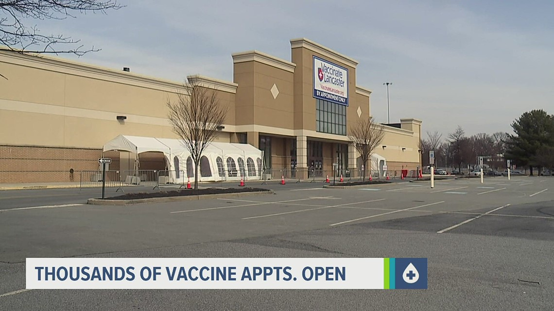 Lancaster Co. health leaders encourage people to schedule vaccine appointments now, regardless of eligibility
