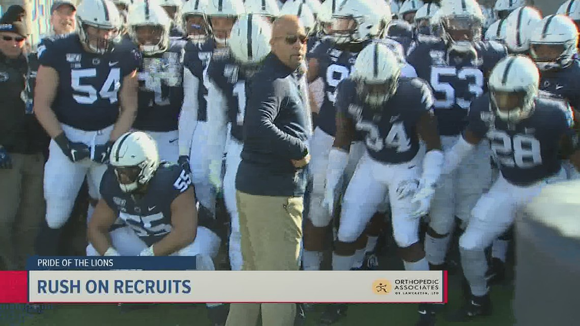 Four-star recruiting parade on 4th of July for Penn State | Pride of the Lions