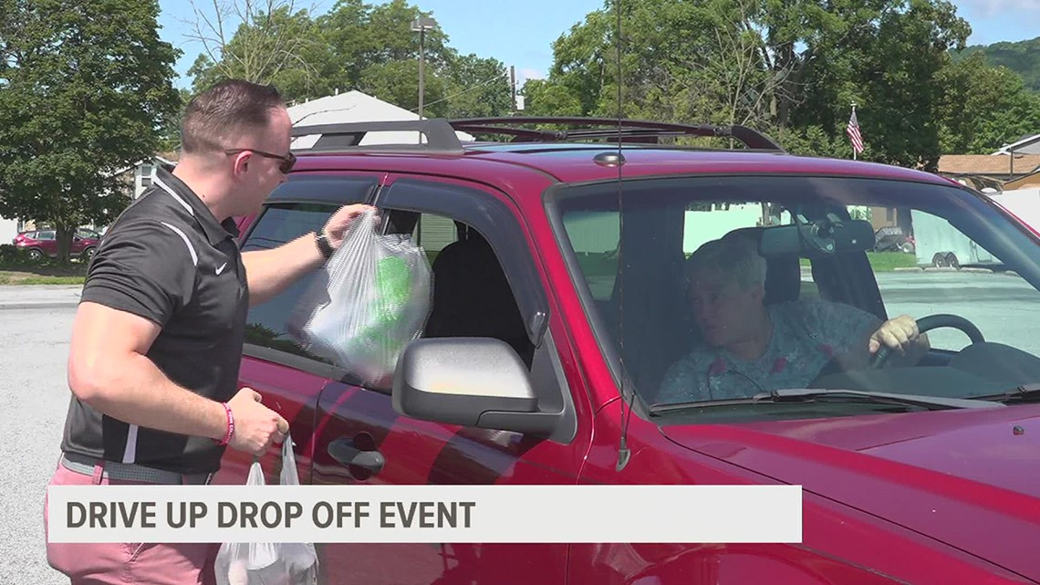 Drive up, drop offdonation event to help combat homelessness