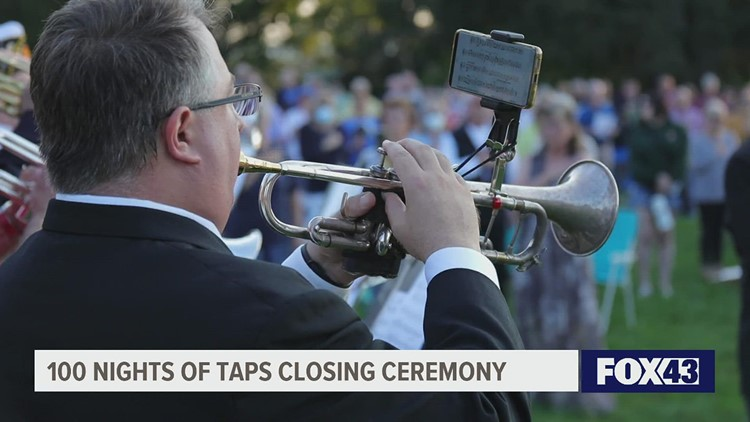 100 Nights of Taps in Gettysburg honors 9/11 victims