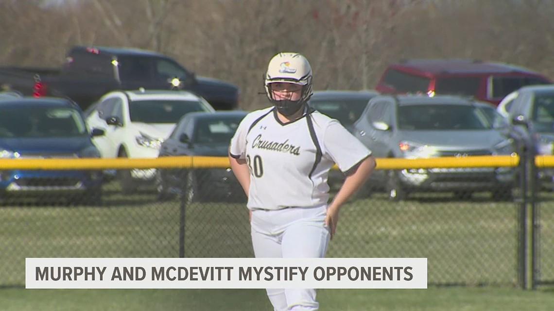 Murphy and McDevitt softball mystify opponents