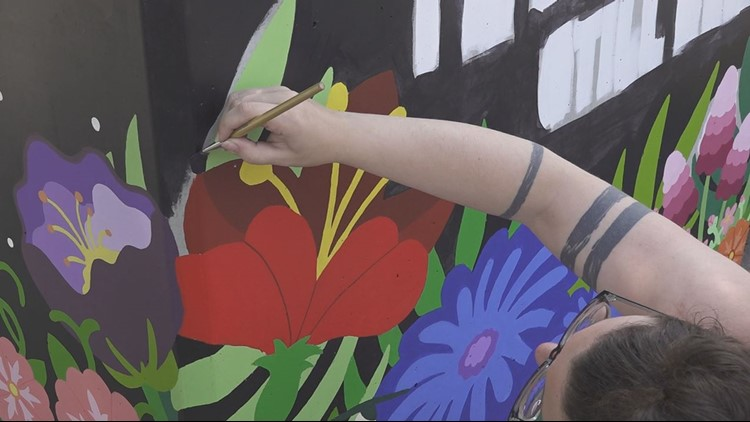 Local arts non-profit is giving back to the Harrisburg City community with projects to uplift and beautify