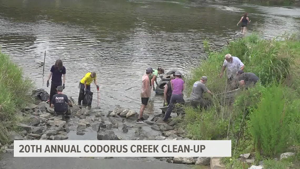 20th annual Codorus Creek clean-up