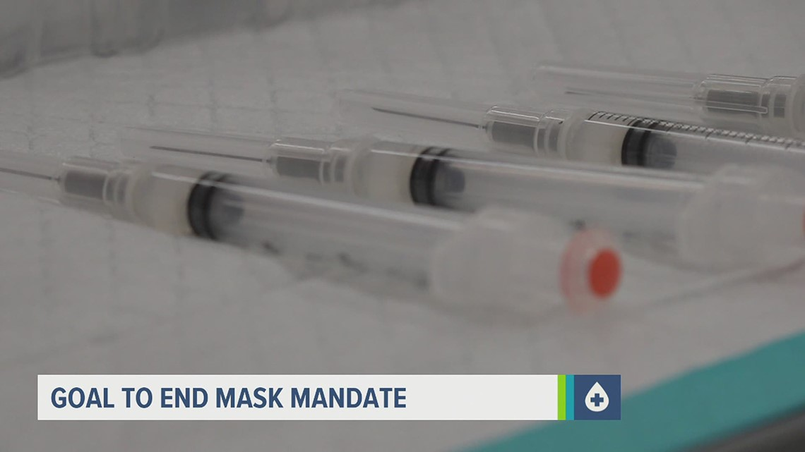 Goal to end mask mandate