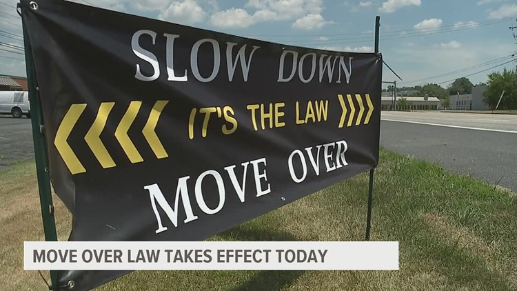 Move Over Law now in effect: What drivers need to know
