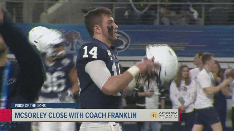 McSorley remains confident in Sean Clifford | Pride of the Lions