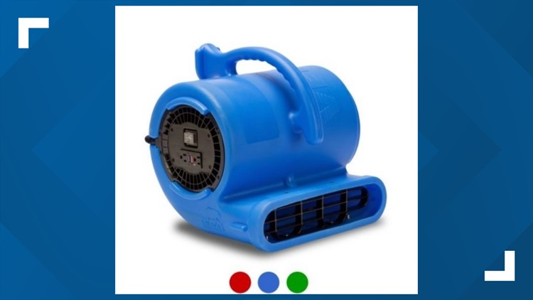Blower fans sold at Home Depot, Amazon, recalled due to fire hazard