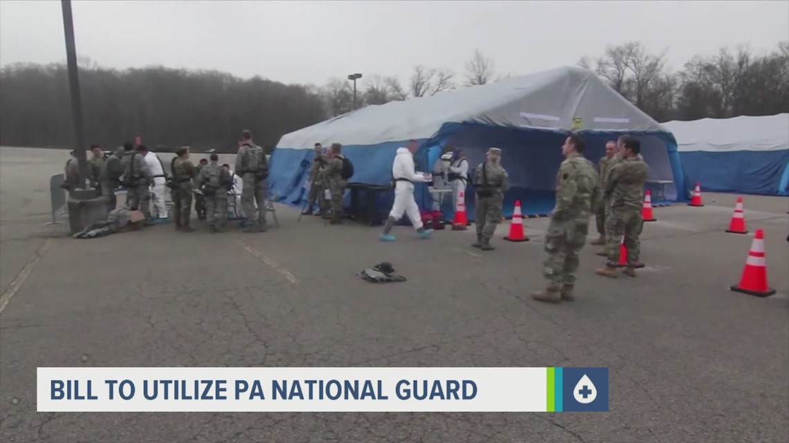 Legislation to involve Pa. National Guard in COVID-19 vaccine distribution, administration under consideration