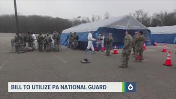 Gov. Wolf signs bill permitting the PA National Guard to help distribute COVID-19 vaccinations