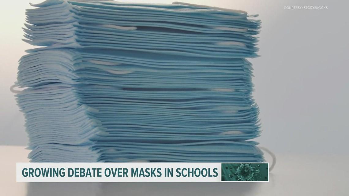 Court hearing held in Harrisburg for lawsuit challenging Pennsylvania's mask mandate in schools