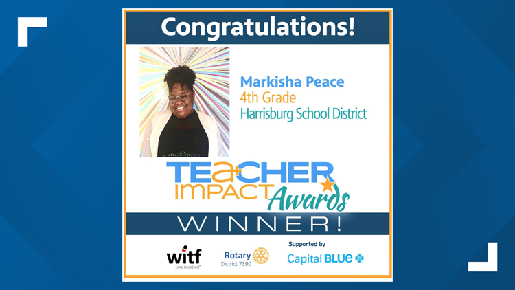 Harrisburg teacher receives 2021 Teacher Impact Award