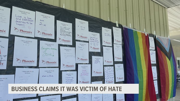 State Police are investigating anti-LGBTQ rhetoric spray-painted on Gettysburg health center as a hate crime