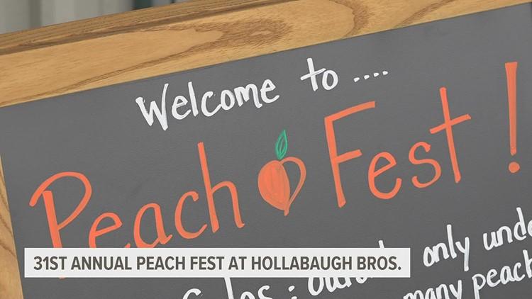 Adams County farm holds 31st annual peach festival