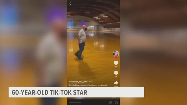 60-year-old Lancaster man goes viral on TikTok rollerskating at Overlook Roller Rink