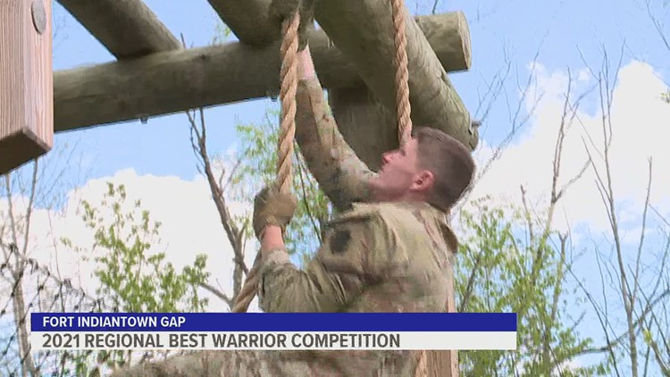 Eleven National Guard members compete in best warrior competition