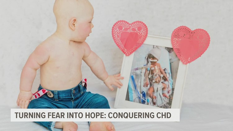Lancaster County family grows stronger after learning of son's heart defect