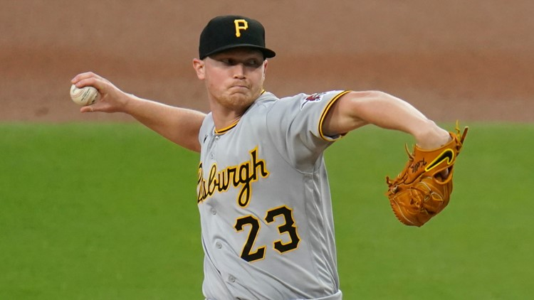 Keller, bullpen pitch Pirates to 2-1 win over Padres