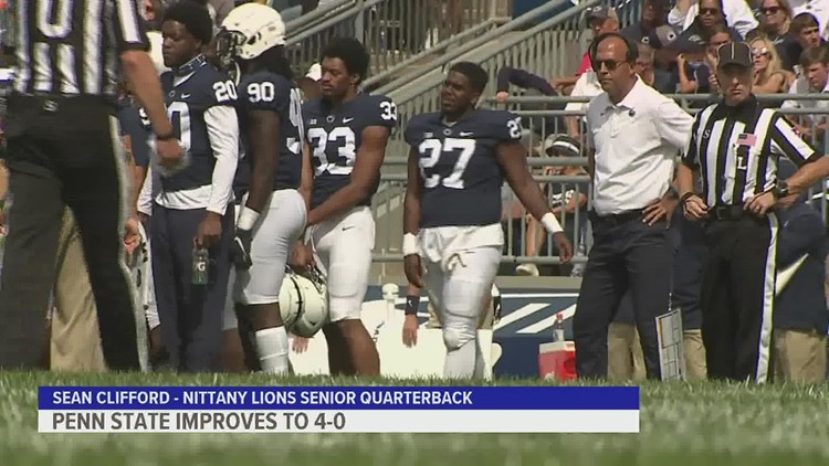 Lions use big plays in passing game to down Villanova at Beaver Stadium