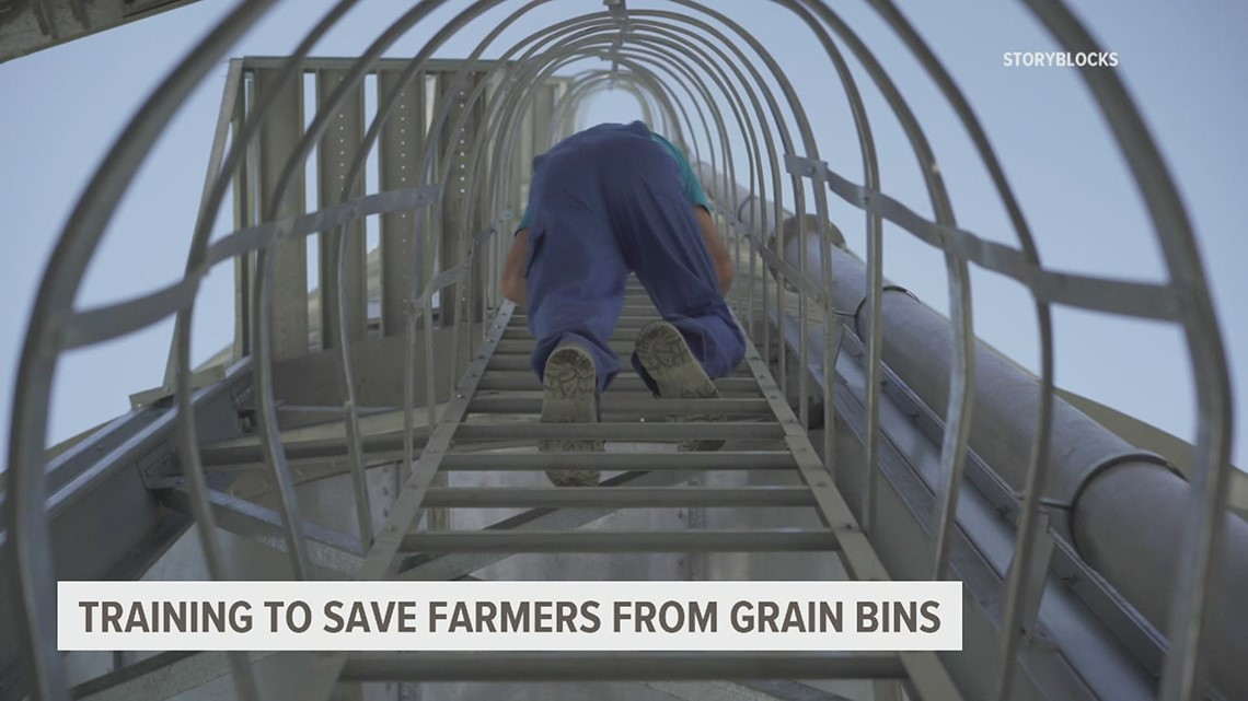 Grain entrapment a concern on farms; Now, a York County fire company will be trained to help