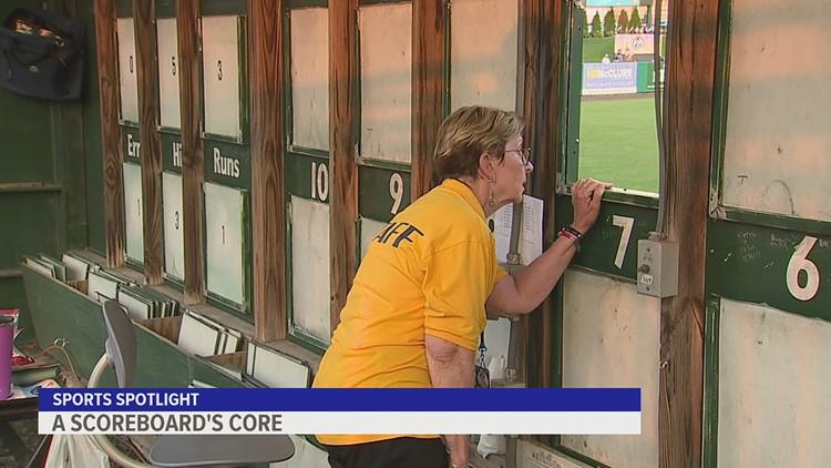 A Scoreboard's Core | Sports Spotlight