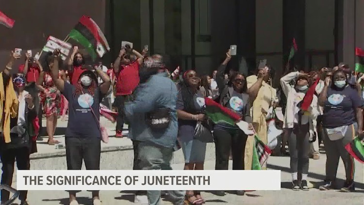Juneteenth celebrations continue throughout the week and activists shed light on its significance