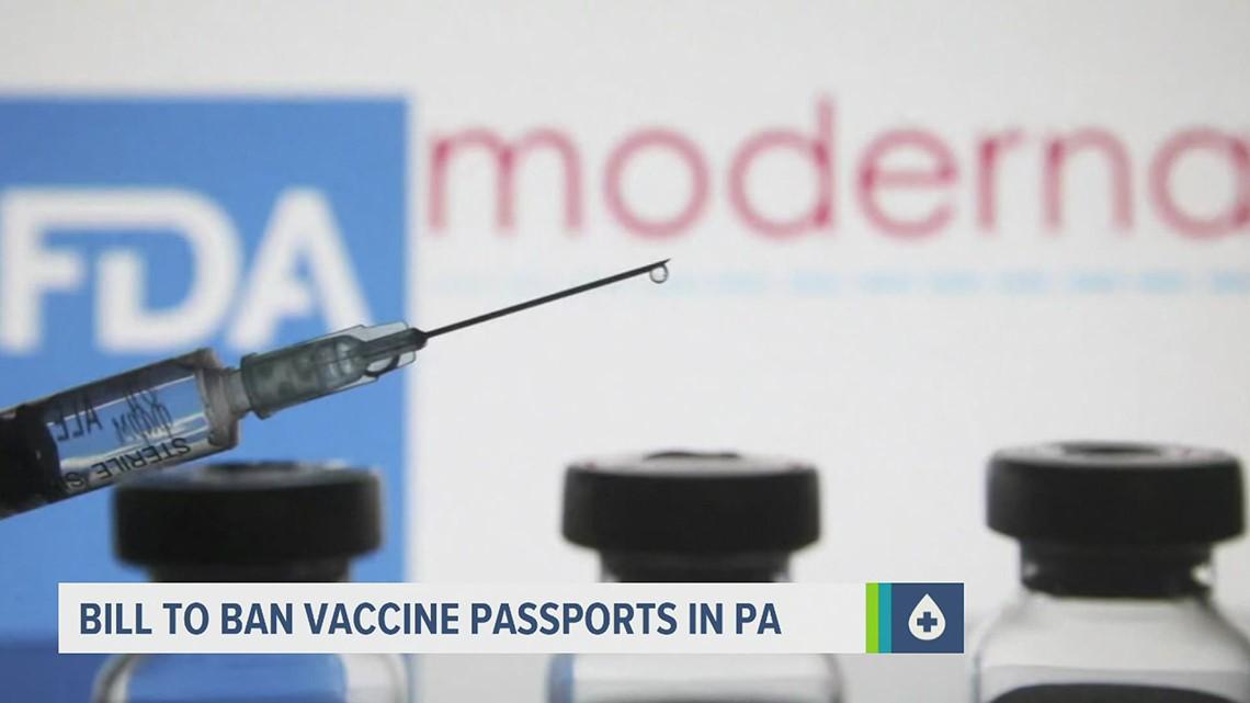 Republican legislators introduce bill to ban Pennsylvania from requiring COVID-19 vaccine passports, 2
