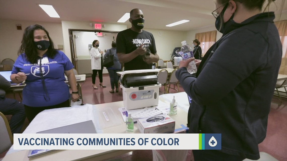 Non-profit and health organizations team up to encourage vaccine distribution in communities of color