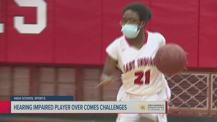 Hearing impaired player overcomes the challenges to play