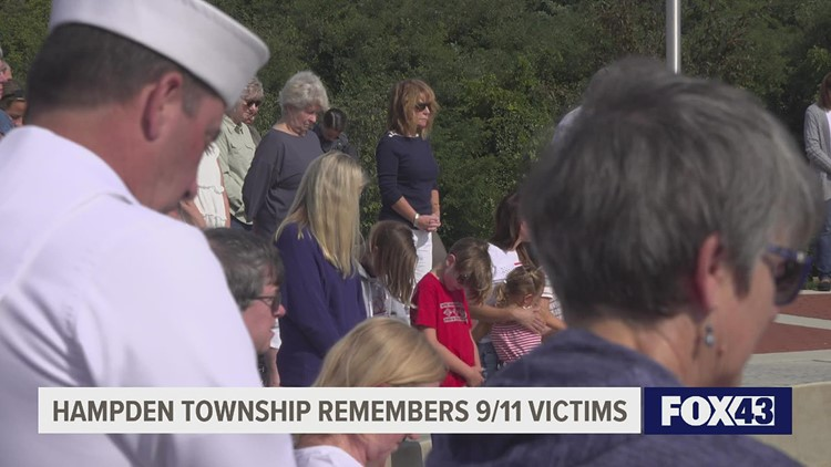 Hampden Township remembers 9/11 victims on 20th anniversary.
