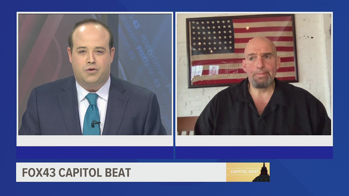 FOX43 Capitol Beat: Lt. Governor Fetterman discusses Senate candidacy