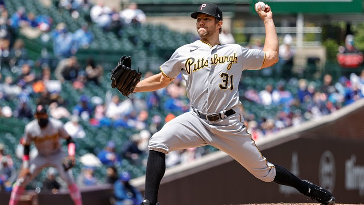Anderson solid, Pirates hold on, end Cubs' 5-game win string
