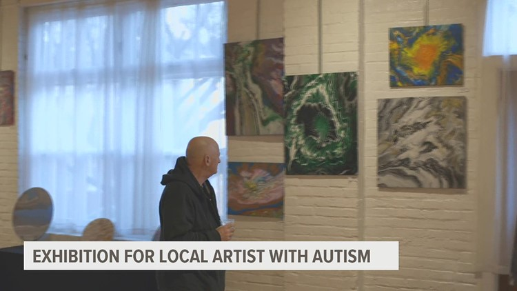 17-year-old with autism hosts first solo art exhibit in Lancaster