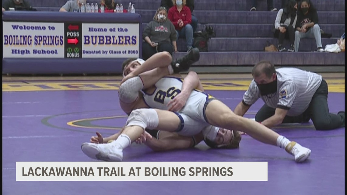 Central Dauphin, Boiling Springs advance to PIAA team wrestling semifinals