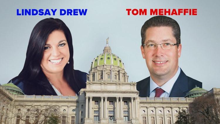 PA House District 106: Tom Mehaffie (R) vs. Lindsay Drew (D)