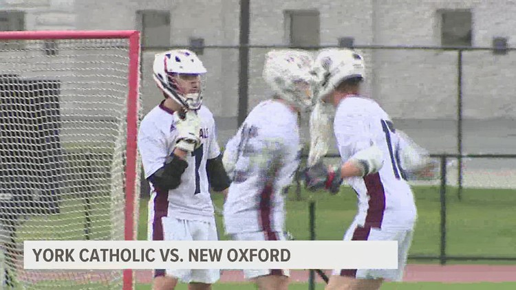 New Oxford remains undefeated with 9-6 win over York Catholic