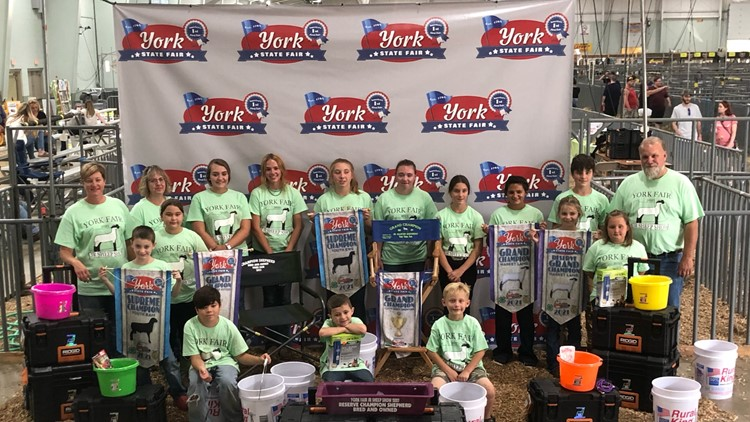A memorable first York State Fair for one York County boy