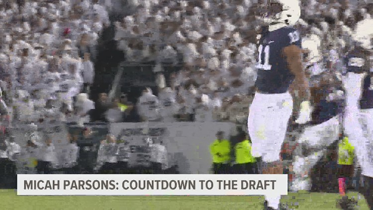 Micah Parsons: Countdown to the NFL Draft