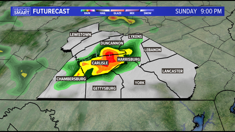 Pop-storm this afternoon, drying out most of this week