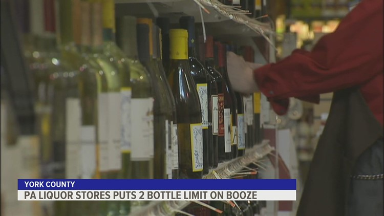 PA Liquor stores put 2 bottle limit on booze
