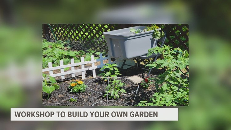 Free workshop in Harrisburg teaches you how to create your own urban garden