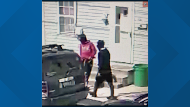 Police want to identify two suspects wanted in shots fired incident