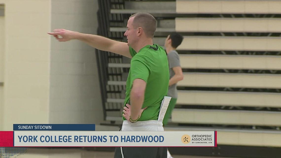 Ready for tip-off, York College's Matt Hunter talks return to the court   Sunday Sitdown