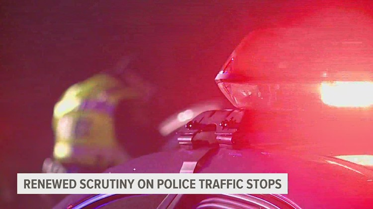 Renews scrutiny on police traffic stop