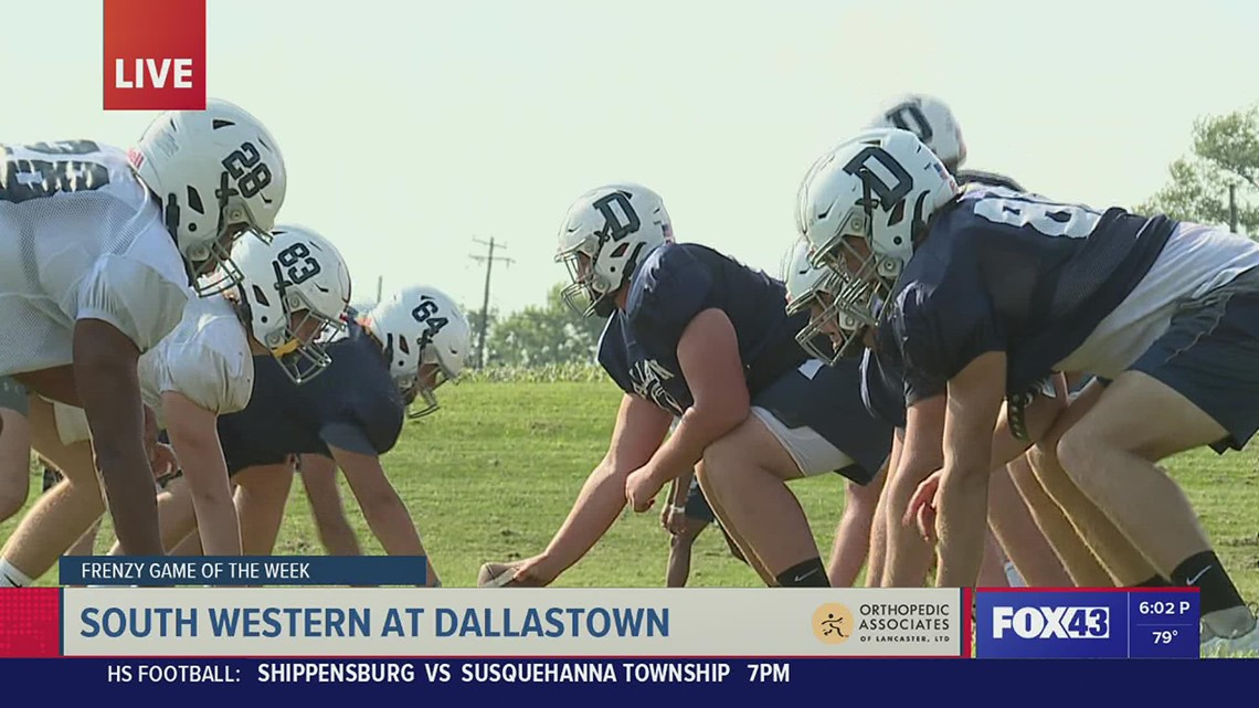 Week 4 Game of the Week Preview - South Western at Dallastown