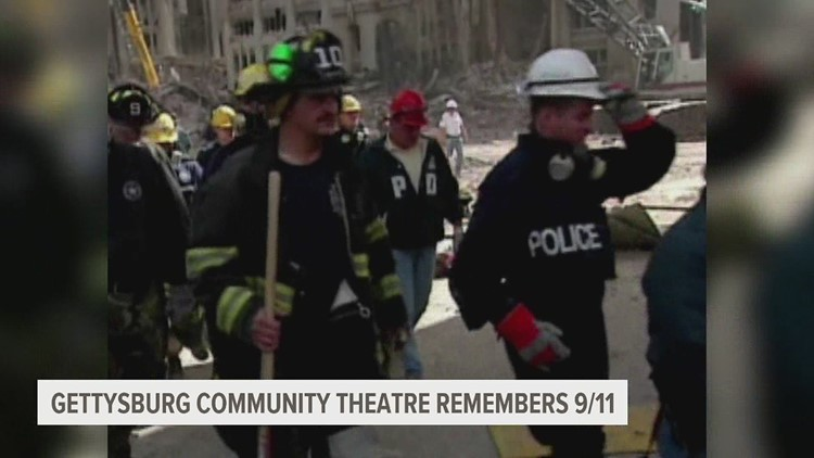 Gettysburg Community Theatre remembers 9/11 with special virtual performance of