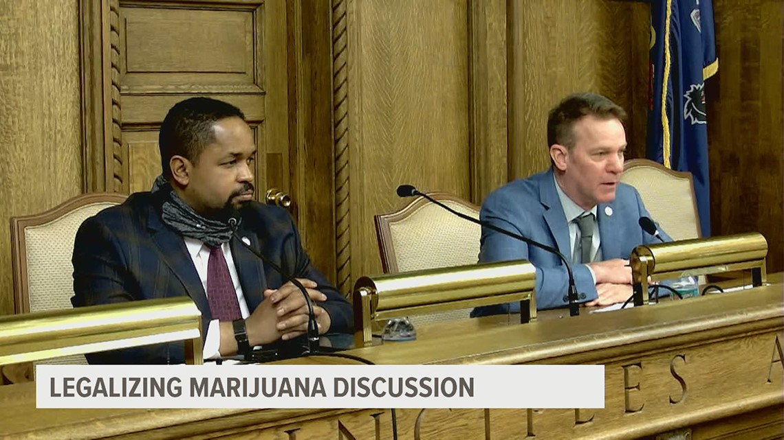 Lawmakers hold roundtable discussion to talk marijuana legalization in Pennsylvania