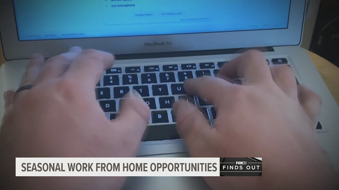 FOX43 Finds Out: Are there seasonal work from home jobs?