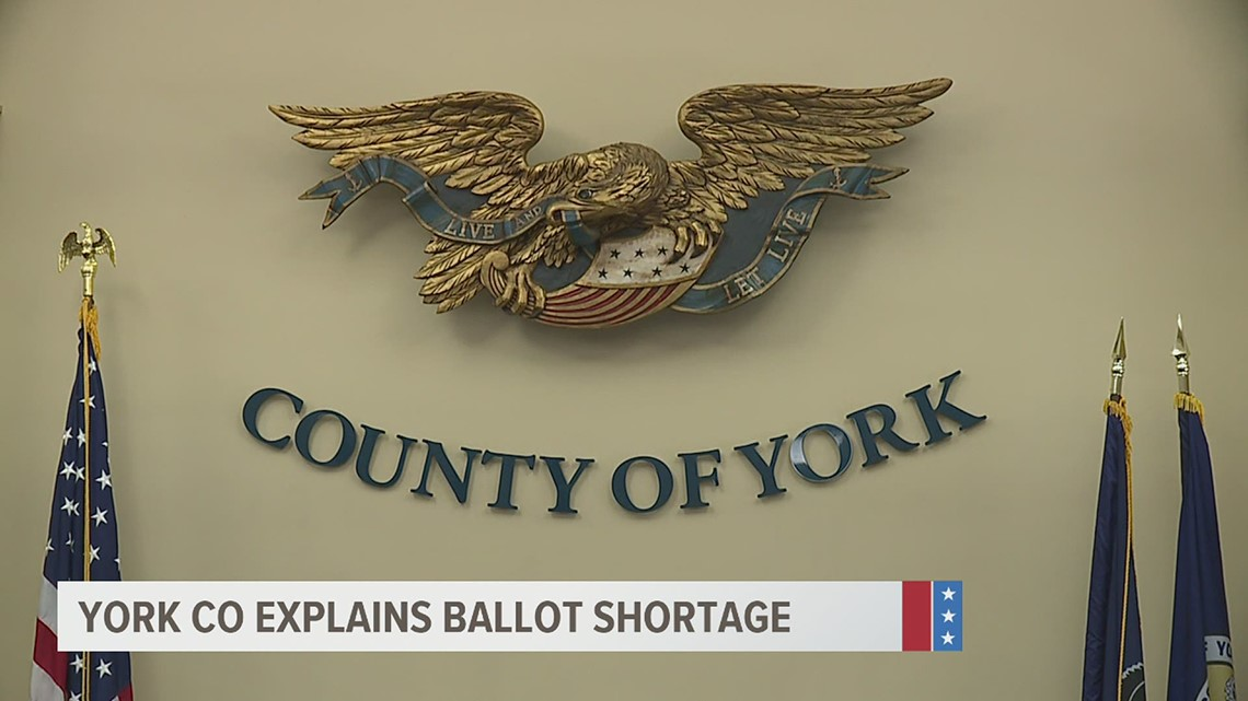 High voter turnout partly caused ballot shortage across polling places in York County, commissioners say
